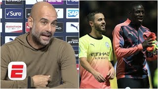 Pep Guardiola says Bernardo Silva's tweet 'was just a joke' to Benjamin Mendy | Premier League