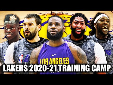 Los Angeles Lakers Training Camp Questions & Battles For 2020-2021 Roster | LeBron James | Starters?