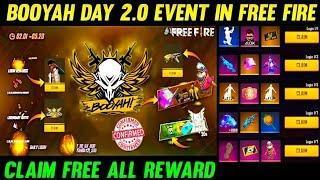 BOOYAH DAY 2021 FULL DETAILS   BOOYAH EVENT ALL REWARDS   BOOYAH EVENT FREE REWARDS  GARENA FREEFIRE screenshot 3