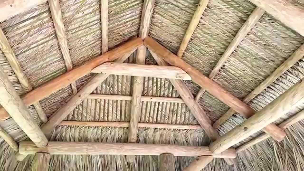 Tiki Huts For Backyard Backyard Tiki Huts |Monster Tiki Huts   YouTube
