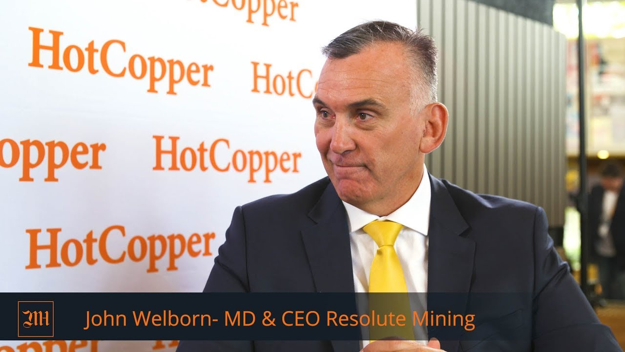 LIVE FROM DIGGERS & DEALERS - John Welborn, MD & CEO Resolute Mining