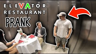 We Created the First EVER Elevator Restaurant ?