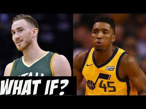 What if Gordon Hayward Resigned With The Utah Jazz? Hayward + Donovan Mitchell!