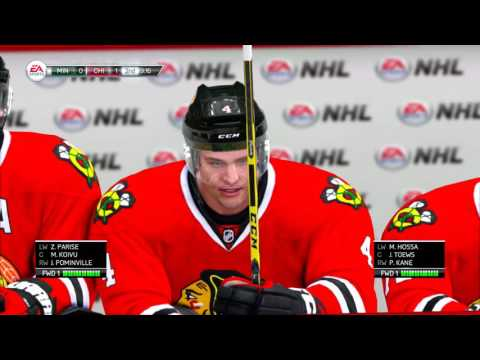 NHL LEGACY EDITION 2016 2017 Season Minnesota Wild vs Chicago Blackhawks