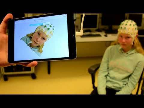 Using structure sensor to record EEG electrodes