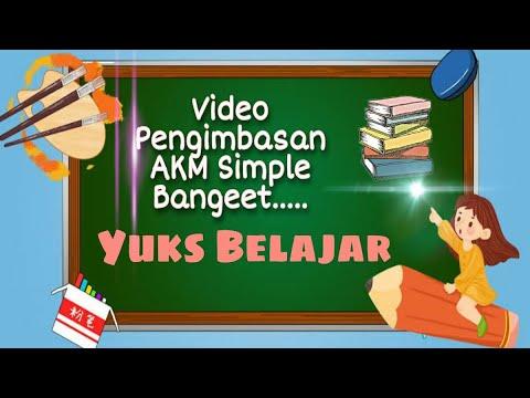 Video Pengimbasan Guru Belajar Seri AKM Cara Membuat Video Pengimbasan Guru Belajar Seri AKM