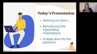 TRI Webinar 1: An Overview of Remote Interpreting