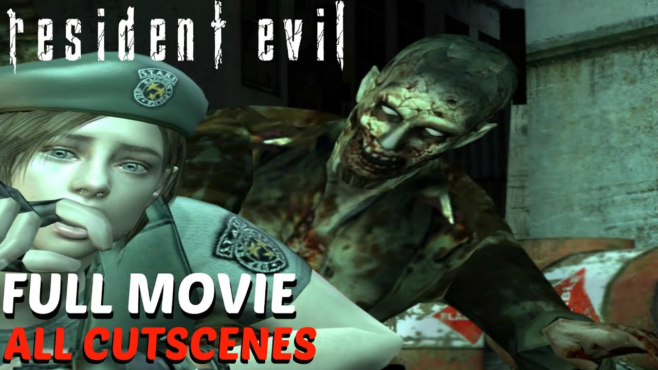 resident evil hd remaster jill valentine all cutscenes full movie youtube - Valentine Full Movie