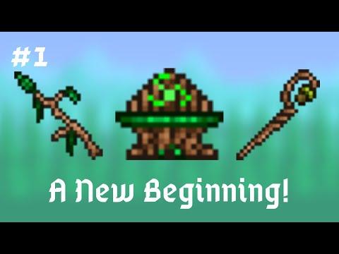 A New Beginning! - Terraria Druid Series #1 (Mod of Redemption + Thorium)