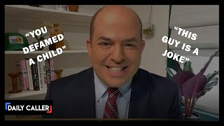 Callers Troll CNN's Brian Stelter on Live TV