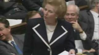 Margaret Thatcher on AV Voting System Referendum