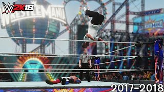 WWE 2K18 - Best PPV Moments (2017-2018)(, 2018-07-20T14:11:46.000Z)