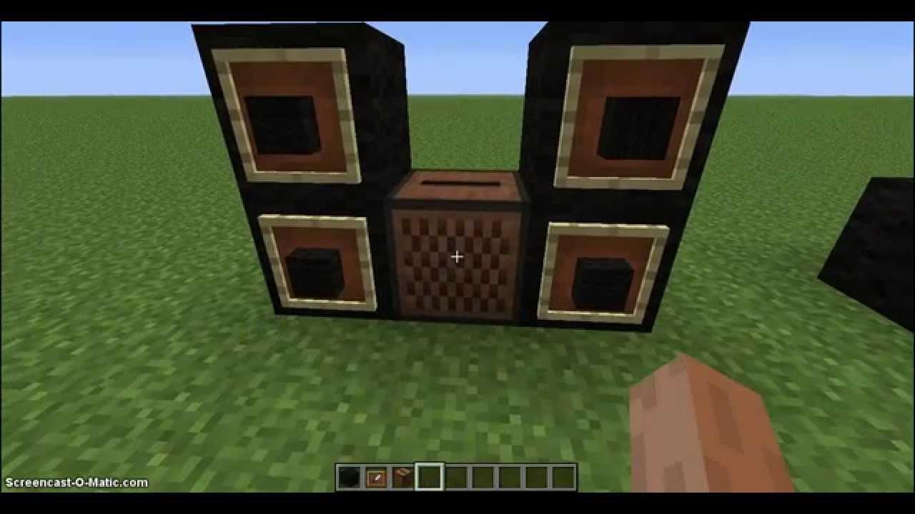 Sala De Estar Minecraft ~ Minecraft Decorações Internas #1 Mobilias Modernas para Sala de