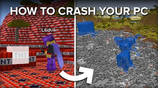 Blowing up 50,000 TNT Blocks in Survival Minecraft!