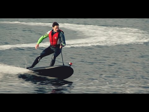 luxury water toy electric powered jet surfboard lampuga youtube. Black Bedroom Furniture Sets. Home Design Ideas