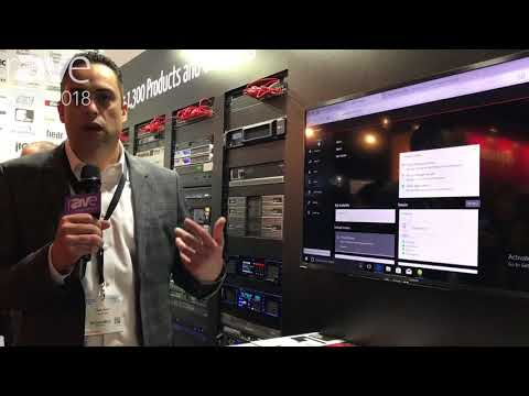 ISE 2018: Audinate Demos Dante Domain Manager Network Management Software