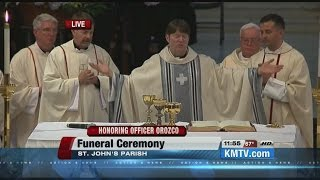 Part 5: Funeral of Omaha Police Officer Kerrie Orozco