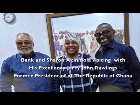 T3 Global Africa. Meeting with His Excellency JJ Rawlings Former President of Ghana.