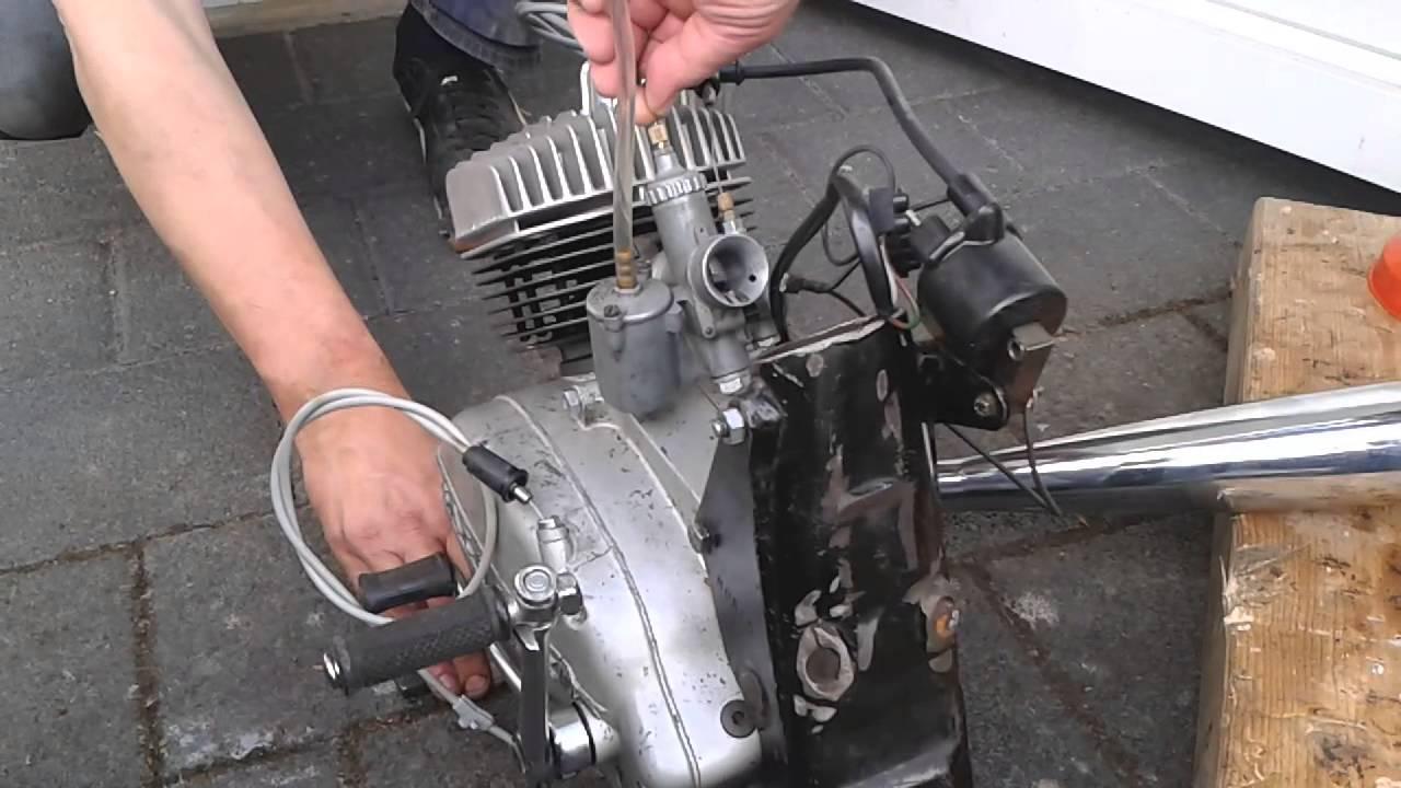 Hercules K50 Sport 1968 Motor Revision Erster Start