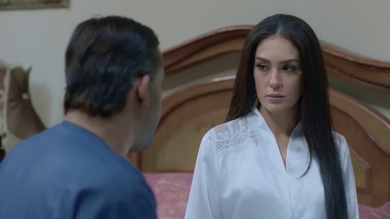 مسلسل البيت الكبير l اغرب وعد من عريس لعروسته يوم الفرح ...  شوفوا مروان وزينب !!!