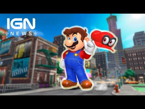 E3 2017: Super Mario Odyssey Co-op Revealed - IGN News