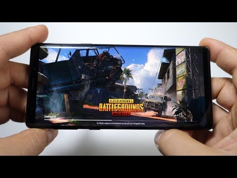 PUBG NOTE 9 Exynos N960F + HDR Ultra graphics activated