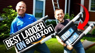 Best Telescoping Roofing Ladder on Amazon! Xtend \u0026 Climb Review