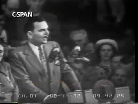 Thomas Dewey Nomination Acceptance Speech 1948