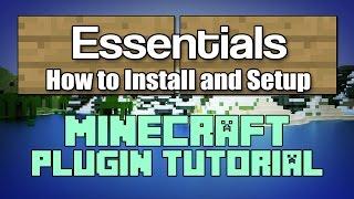 Essentials 1.12 Plugin Configuration Tutorial Minecraft