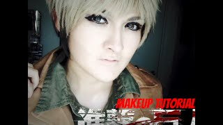 Jean Kirstein Cosplay Makeup Tutorial