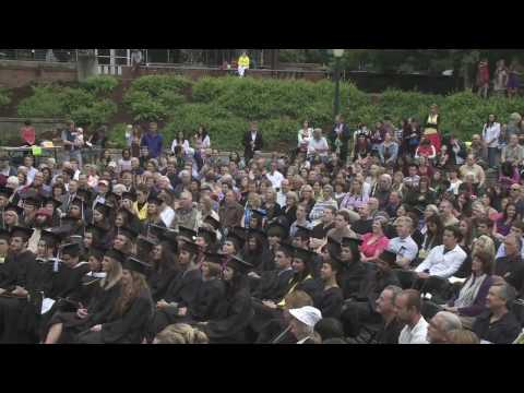 Highlights of University of Oregon Commencement Ceremonies