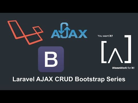 Laravel 5.5 AJAX CRUD Bootstrap with Validation - 8 Export Data to PDF from HTML