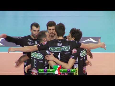 Gli highlights di Kioene Padova - Taiwan Excellence Latina 3-0