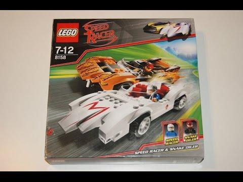 Lego Speed Racer 2008 - 8158 Speed Racer & Snake Oiler!