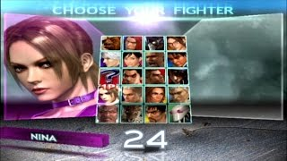 Tekken 4 | Nina Williams