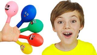 Balloon Song | Daddy Finger Nursery Rhymes | 동요와 아이의 노래 | 어린이 교육