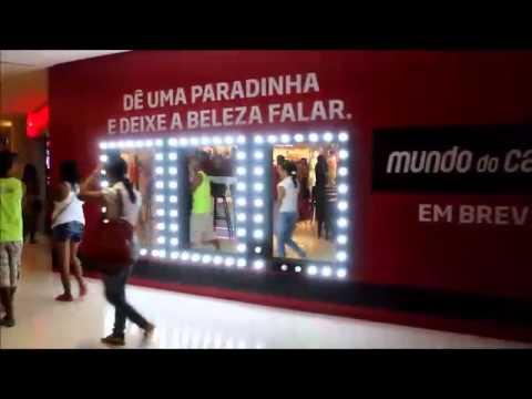 Tapume - Loja do Shopping Recife