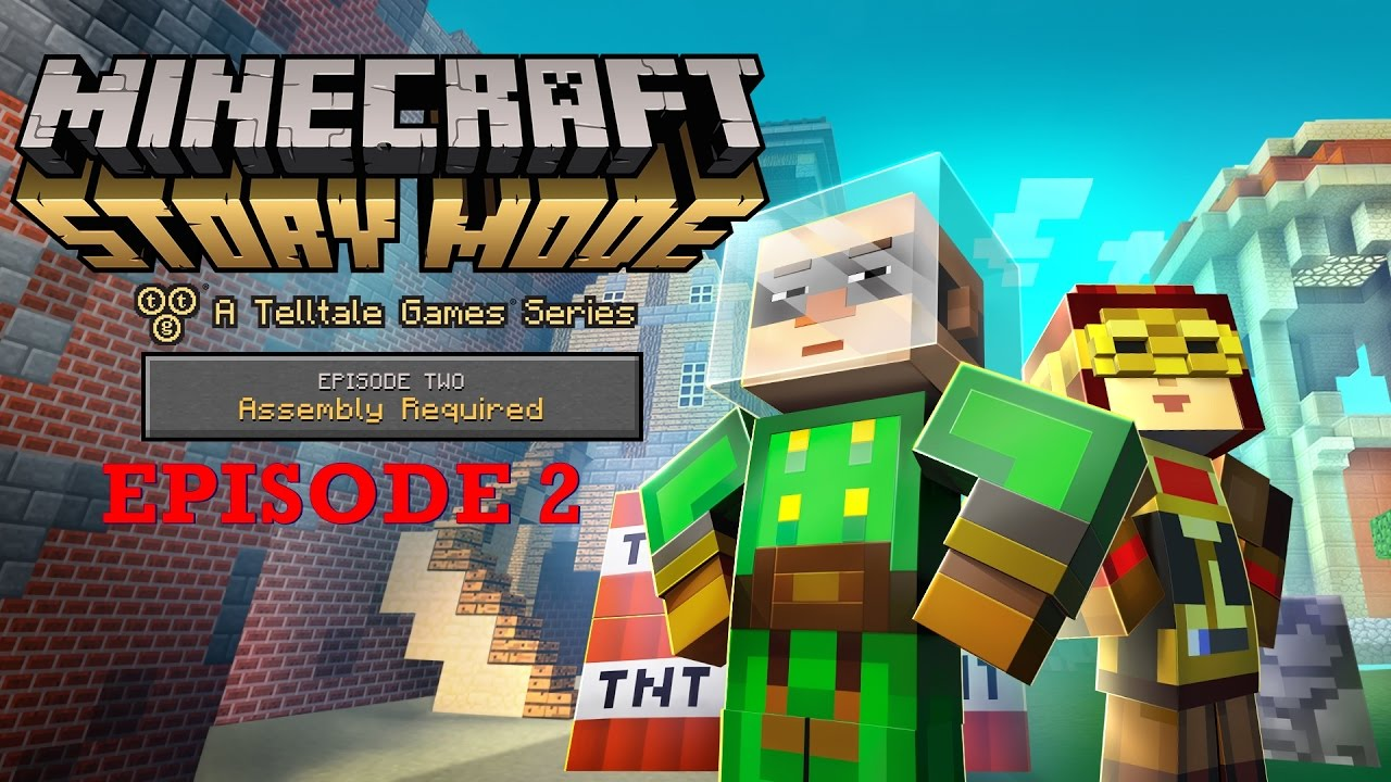 Minecraft Story Mode Assembly Required Episode AnimationEnglish - Minecraft story mode deutsch spielen