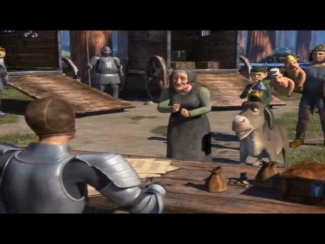 Shrek conoce a burro .   SER|ESTAR