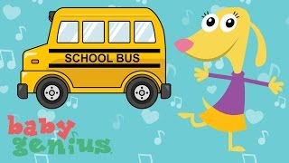 The Wheels on the Bus | Favorite Children's Nursery Rhymes | Baby Genius