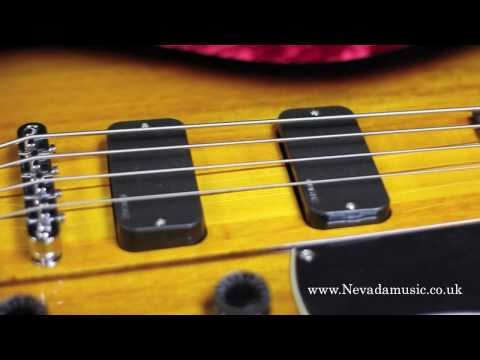 Schecter Ultra Bass 2-Tone Sunburst Demo @ Nevada Music UK