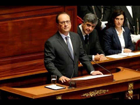 Attentats de Paris : le discours complet de François Hollande devant le Congrès à Versailles