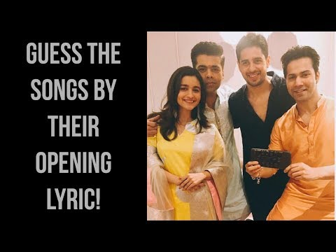 FIRST LYRIC ★ Guess the songs by their opening lyric! | #3