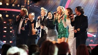Скачать Demi Lovato Sings Ain T No Mountain High Enough With The Swedish Idols Idol Sverige TV4