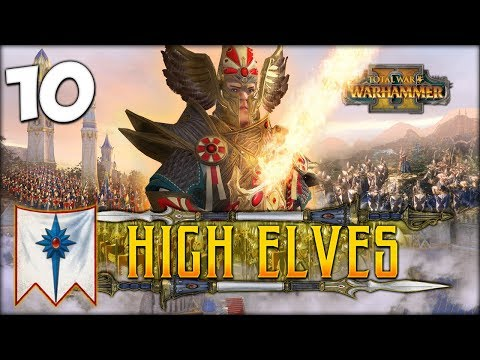 MIGHT OF THE LION! Total War: Warhammer 2 - High Elves Campaign - Tyrion #10