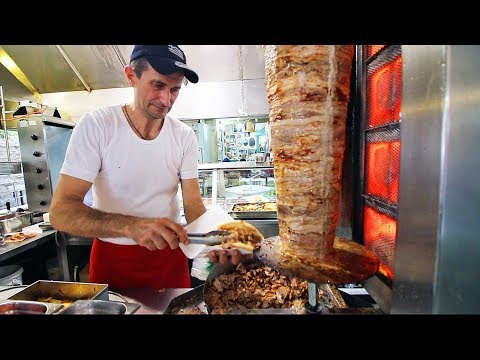 GREEK STREET FOOD Tour in ATHENS, GREECE | TOP 10 Street Foods in GREECE 2018 – BEST GREEK FOOD