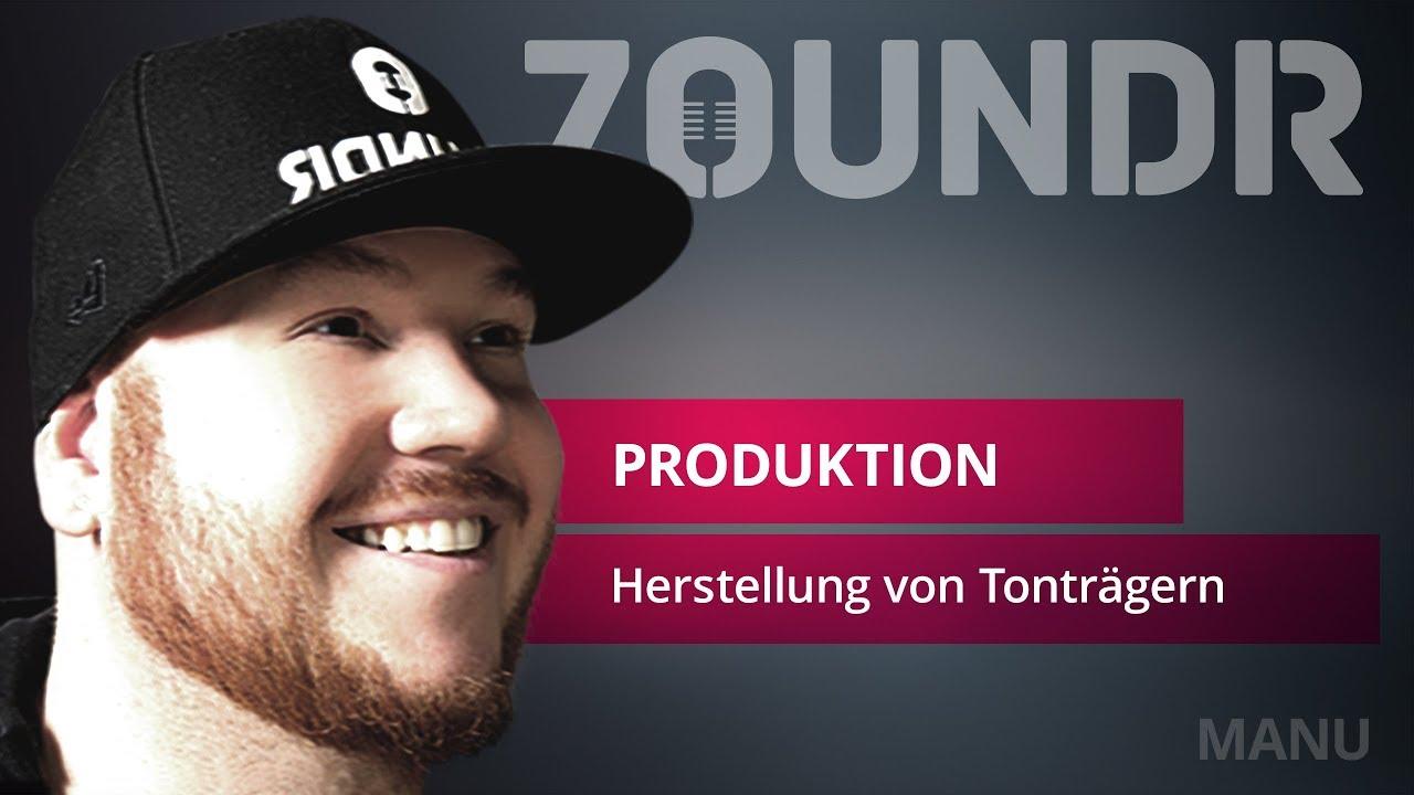 🎥Herstellung von Tonträgern im Presswerk | ZOUNDR