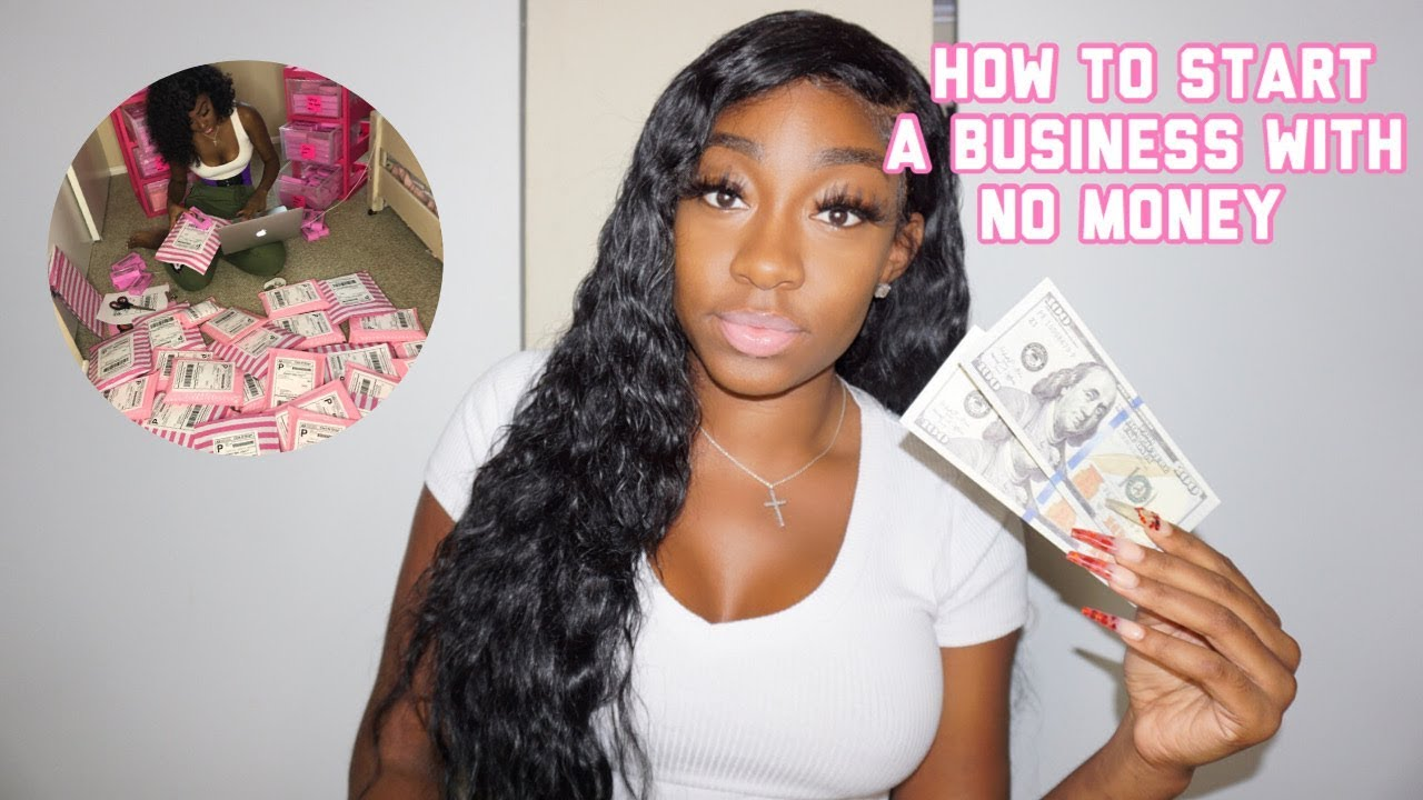 5 TIPS TO STARTING A BUSINESS WITH NO 💰 MONEY