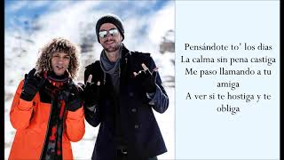Después Que Te Perdí ft. Enrique Iglesias - Jon Z - (Lyrics)