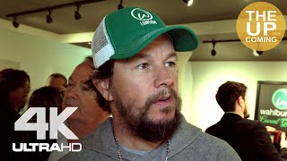 Mark Wahlberg at Wahlburgers opening in London Covent Garden - interview